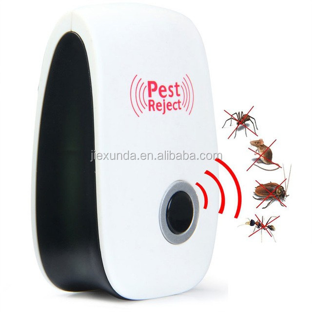 Ultrasonic Pest Repeller Best Professional Indoor Pest Control Electronic Plug In Repellent for Mice Spiders Roaches