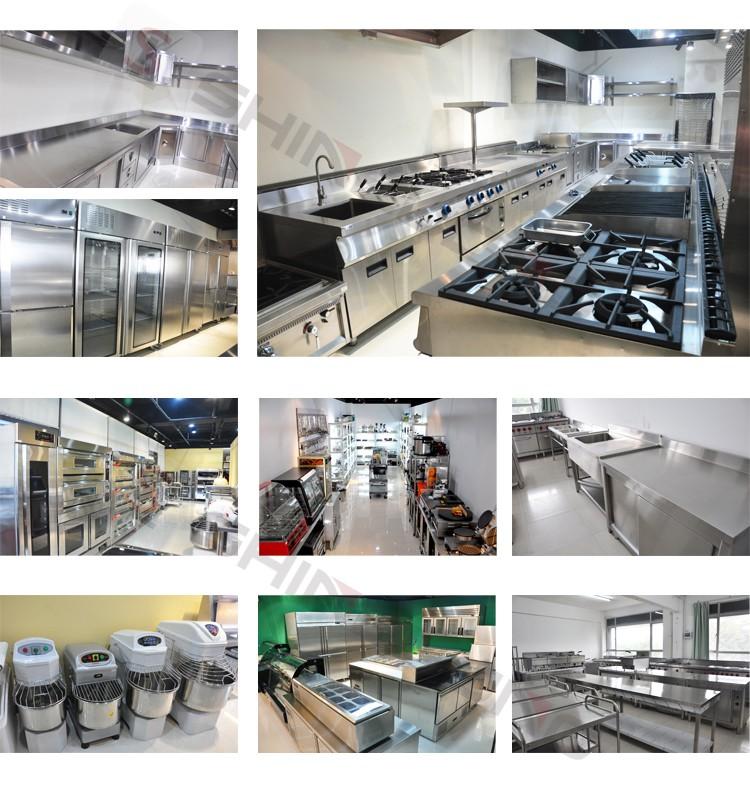 Full Set Restaurant Commercial Kitchen Equipment In China