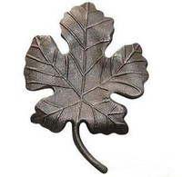 Customized cast iron flowers and leaves for fence / gate decoration