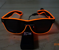 Ray-Ban Style High quality&High luminance Red EL light glasses