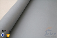 3732 0.5mm thermal insulation silicone rubber coated glass fabric fabric