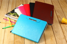 New product folio candy color Leather Case Cover For Apple iPad 4/3/2