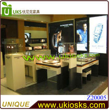 2015 CE approved 10ft by 10ft mall watch kiosk, watch display kiosk