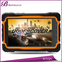 7inch portable long battery life 3g android tablet gps navigation with igo map