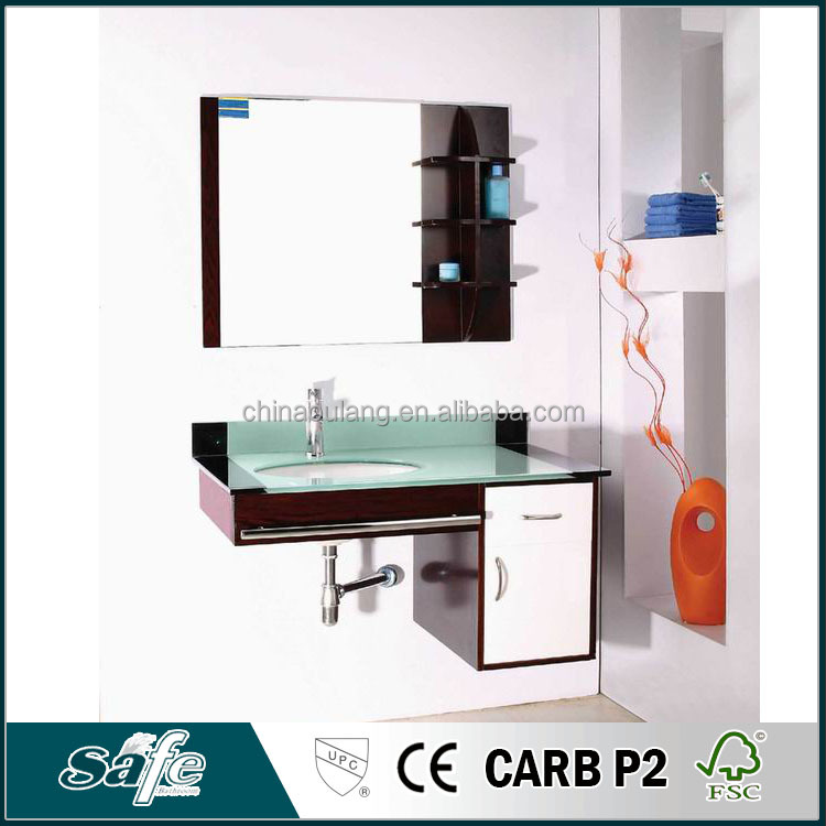Best selling hot wall mounted foshan bathroom furniture