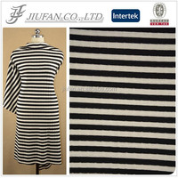 Jiufan Textile Hot Selling Rib Knit Acrylic Span Fabric For Garment Sweater