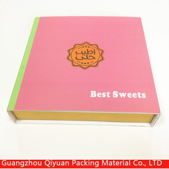 New Product Custom Logo Square Small Chocolate Gift Box