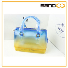 Candy Bag Factory transparent PVC lady fashion handbag