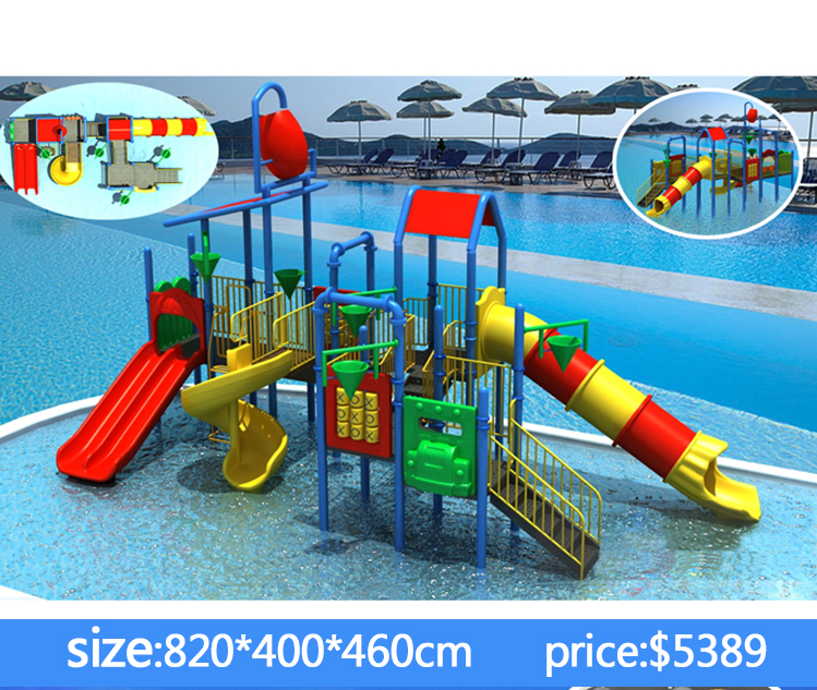 Guangzhou High quality water park equipment water slides prices big water slides for saleHF-G126A