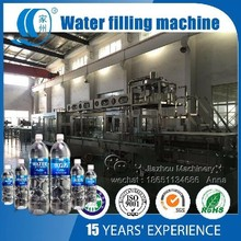 Automatic drinking water washing filling capping 3 in 1 machine