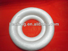2014 new style white round craft foam Christmas 50mm rings