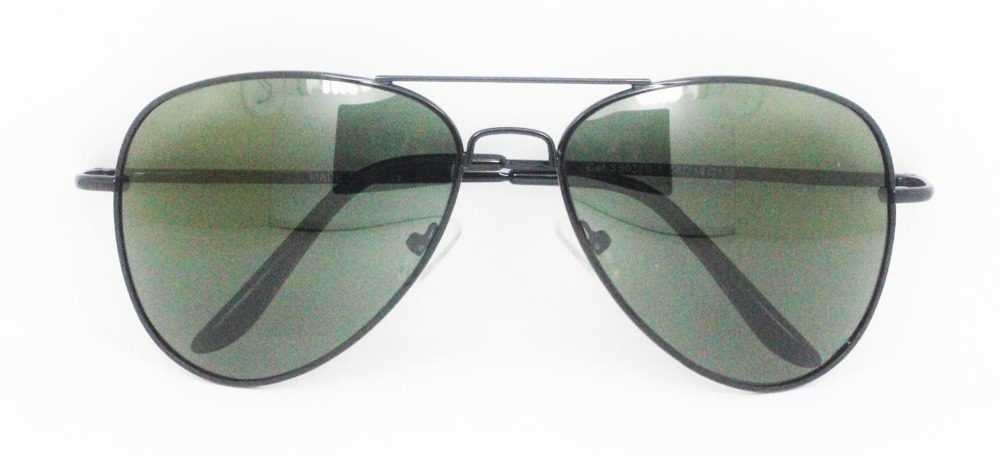new unisex metal polarized mirror sunglasses aviator
