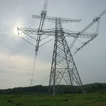 high quality tower power transmission line equipment