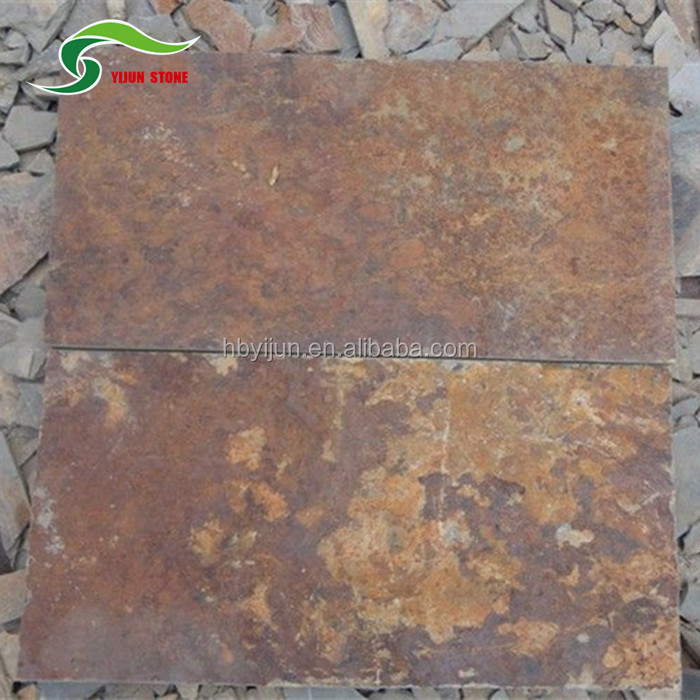 Cheap and natural slate brown color with China Factory direct sale