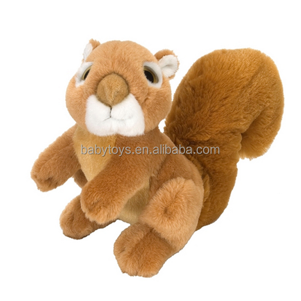 New launching stuffed animal squirrel toys for baby gifts