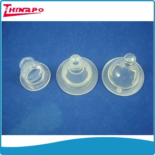 New Style Food-Grade baby bottle silicone big nipple