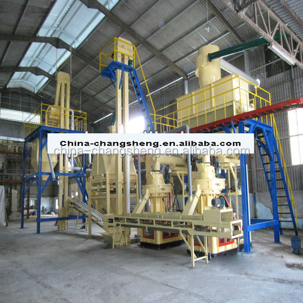 CS Request a quotation for the supply pellet production line