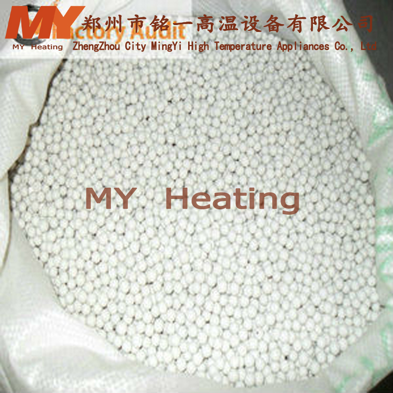 China manufacturer Industrial high desnsity heat resistant inert alumina ceramic beads for wholesale