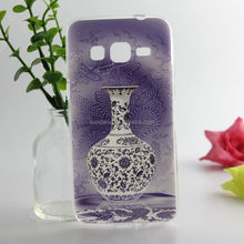 2014 phone case Pattern design Painted relief IMD Hard Back Cover Case For samsung Galaxy Core I8260 I8262