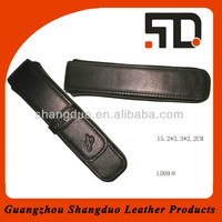 Alibaba China Experienced Manufacture Custom Leather Pen Case