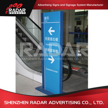 Outdoor directory directional signs free standing way finding signage