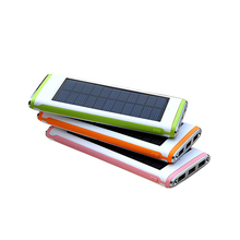 Mobile Accessories 10000Mah Solar Power Bank