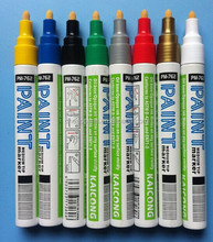 Fabric paint marker for t-shirt, permanent ceramic marker pen