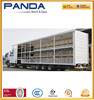 China 60T curtain trailer, roll up curtain semi trailer, window curtain transport trailer