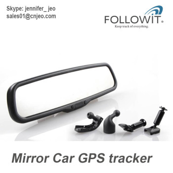 Mirror Car GPS Tracker Lurker, Remote power cut-off function, best anti thief, cut off engine remotely