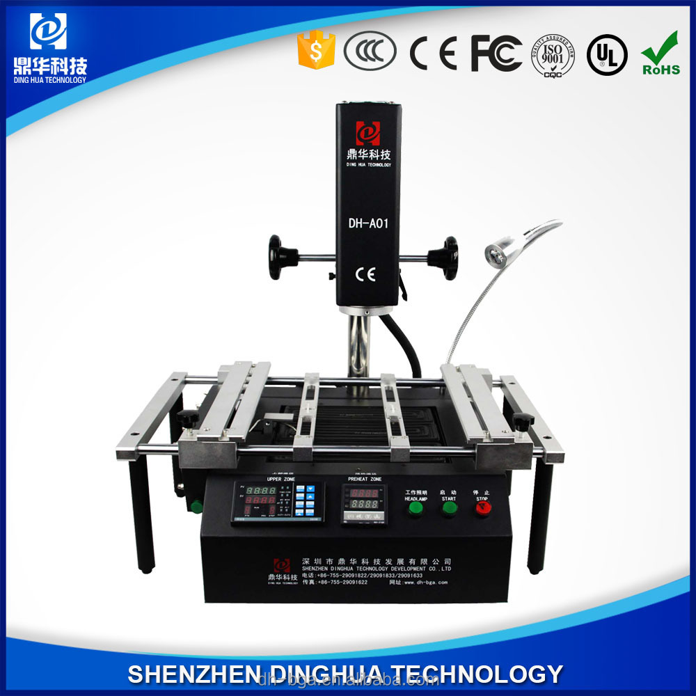 Dinghua bga desktop wave soldering machine/ yaxun tools laptop/smd reflow oven DH-A01