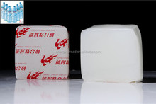 china chemical hot melt label adhesive glue for plastic bottle labeling with best quality