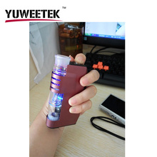 High quality wax vaporizer vapor e pen USA the hottest glass e cig wax oil vape mod box with water