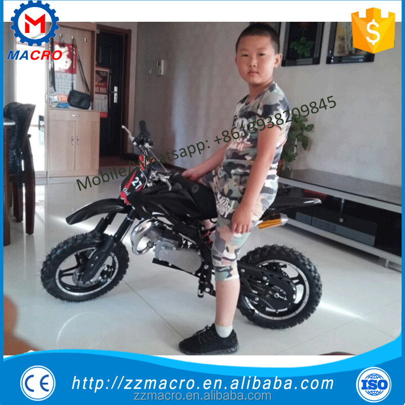 gas pedal bike 49cc gas powered mini dirt bike