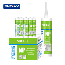High temperature weather resistence car roof silicone sealant adhesive