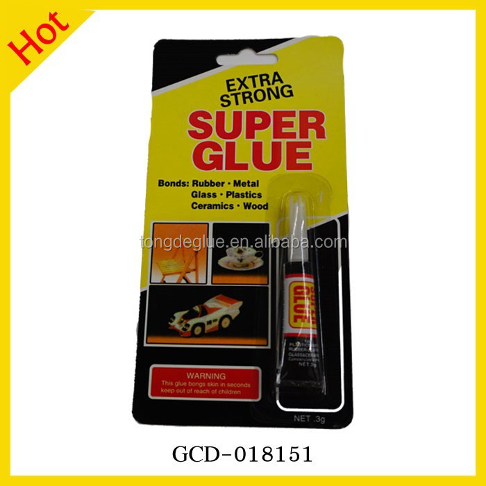 Best Tube Package 3ml Cyanoacrylate Super Glue For All Purpose
