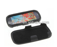 Flip cover for samsung t399,for Samsung T399 hybrid protector pc silicone case with holster