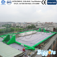 2015 Outdoor PE Class Inflatable Football Soccer Pitch