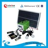 10W 20W 30W mini solar home lighting system / portable DC solar kits with/without MP3 function
