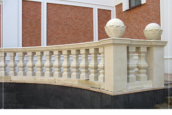 Hight Quality sandstone Natural Stone baluster railing