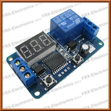 5V operating 10A capacity 0 to 999 seconds Time Delay Off with Display Relay Module