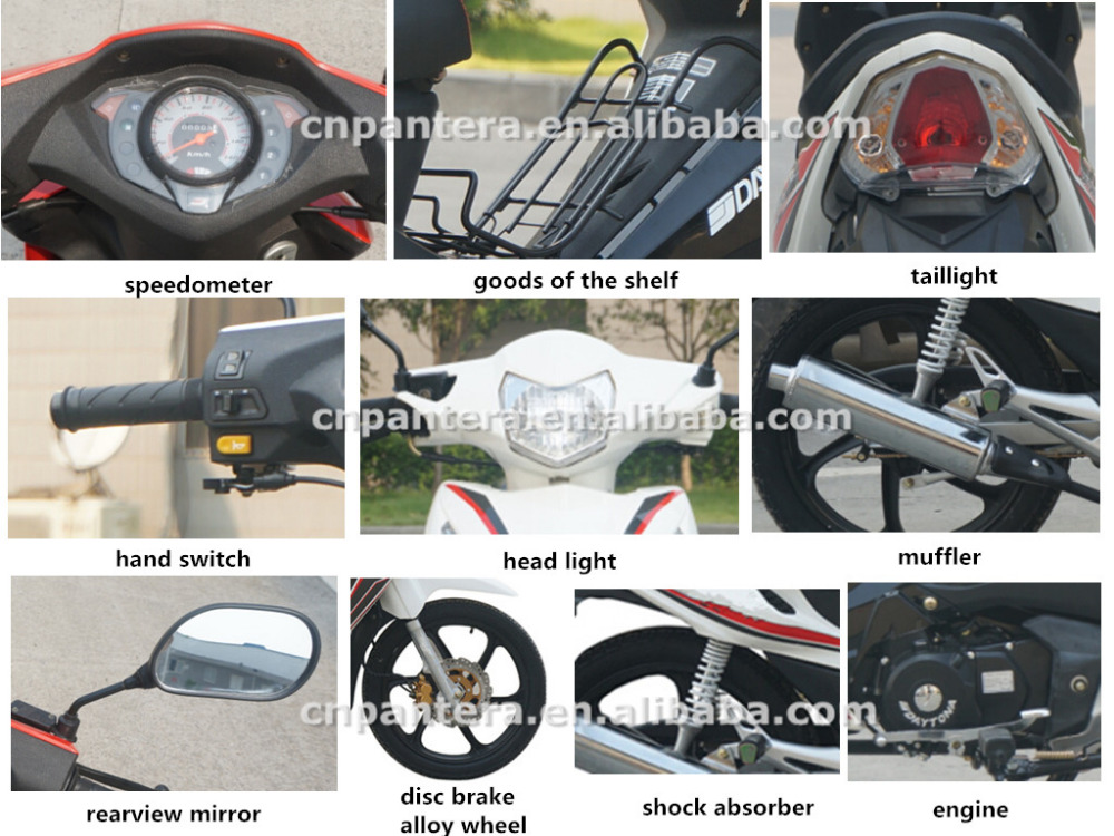 110cc 125cc Super Cub New Alloy Wheel Motorcycle