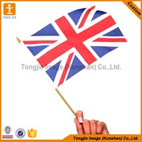 Symbolic Reusable Advertising Hand Flag