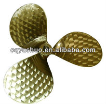 3 Blade Marine Fixed Pitch Bronze Propeller (FPP)/ Small Boat Propeller