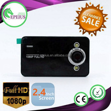 Full HD 1080P 2.7 Inch Car Video Camera Recoder Car Black Box DVR K6000 with Night Vision 2.7inch 140 degree wide lens