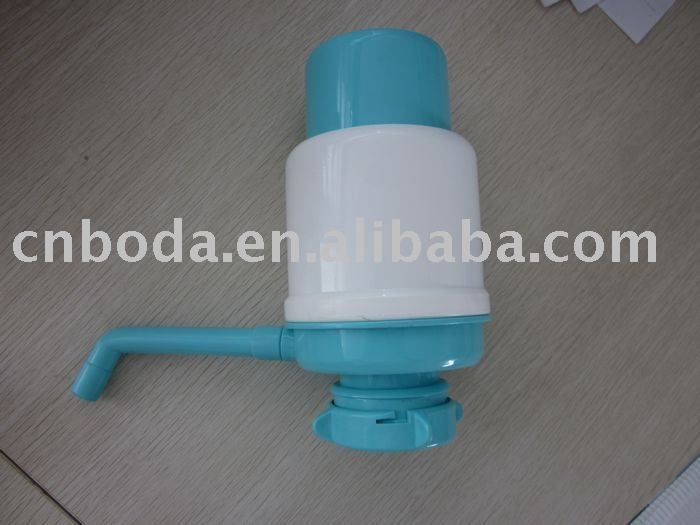 manual operated plastic drinking water pump bottle