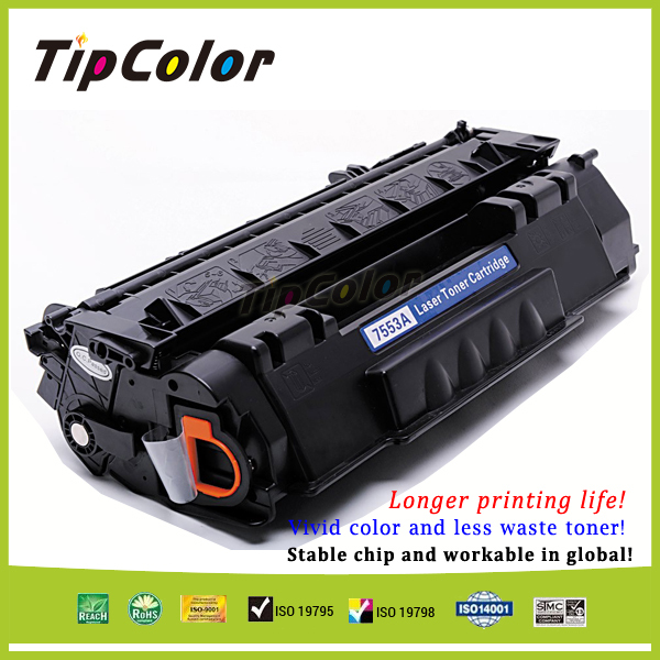 Genuine Quality Compatible HP Q7553A Toner Cartridge HP 53A Toner Cartridge