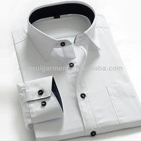 Wholesale Clothing Garment Mens White Shirt