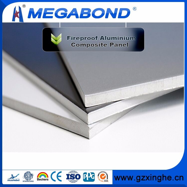 insulated aluminum sandwich panel heat resistant and fireproof/aluminum composite panel