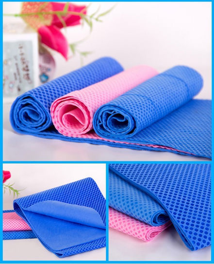 Summer Ice Towel Sports Ice Cool Towel PVA Hypothermia Cooling Towel