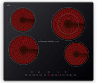 60CM Built-In four burner Ceramic hob vitro ceramic hob portable ceramic hob